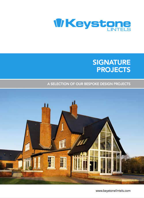 Keystone Lintels Signature Projects Brochure