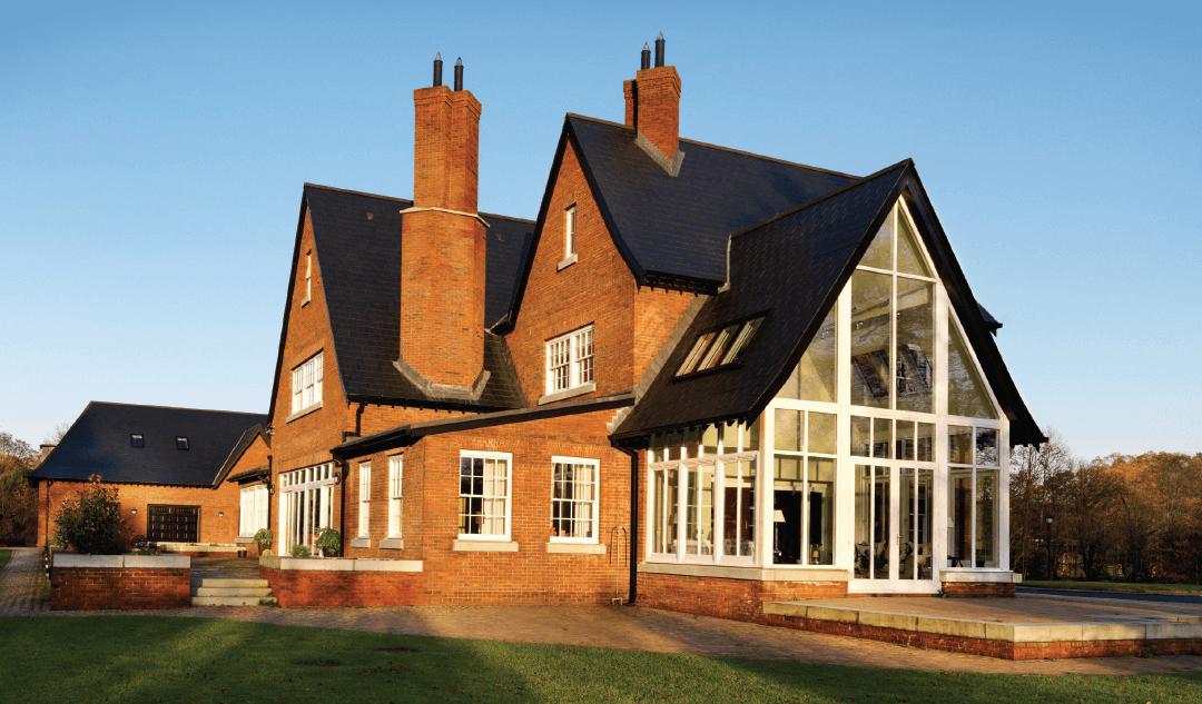 keystone apex lintel for sun lounge glass faced house