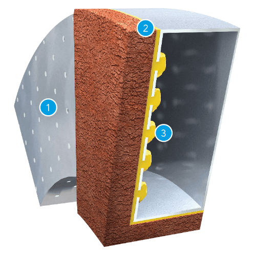 Brick Feature Lintel Cross Section Patented