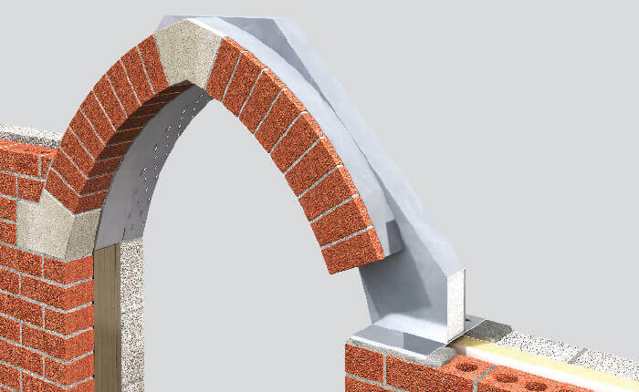 Gothic Arch Brick Feature Lintel