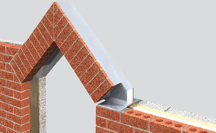 Apex Arch Brick Feature Lintel - Keyslip