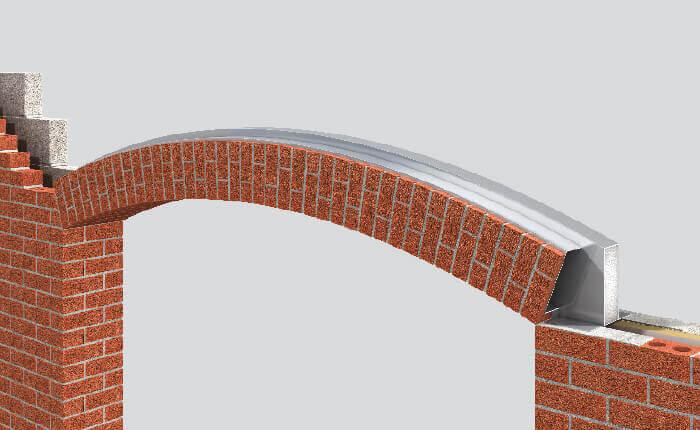Keyslip Full Soffit Segmental Arch