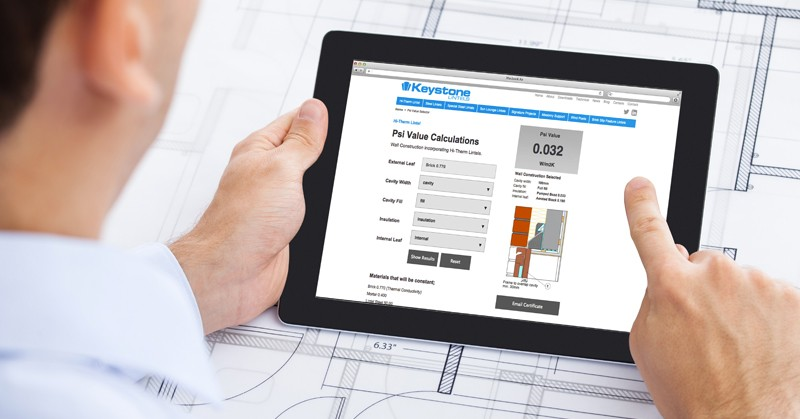 How to use the Lintel Psi Value Calculator