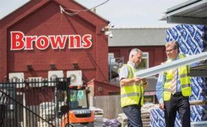 brown builders merchants nbg National Buying Group lintel