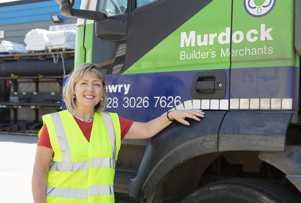 ann morgan mudocks builders merchants lorry keystone