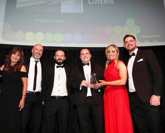 Keystone's Hi-therm+ Lintel Wins Big at the Irish Construction Excellence Awards