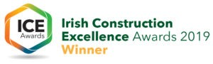 Irish Construction Excellence Awards winner logo