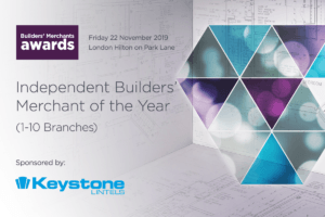 Builders Merchants Awards 2019 Keystone Lintels sponsor