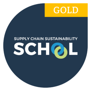 Supply Chain Sustainability School Gold Badge
