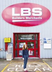 lbs builders merchant rachel davies
