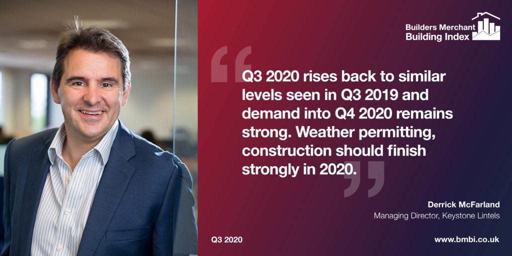 BMBI expert Derrick McFarland 2020 Q3 comment